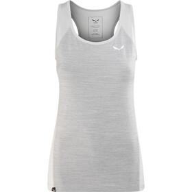 SALEWA Pedroc 2 Dry Débardeur Femme, grey melange/0400